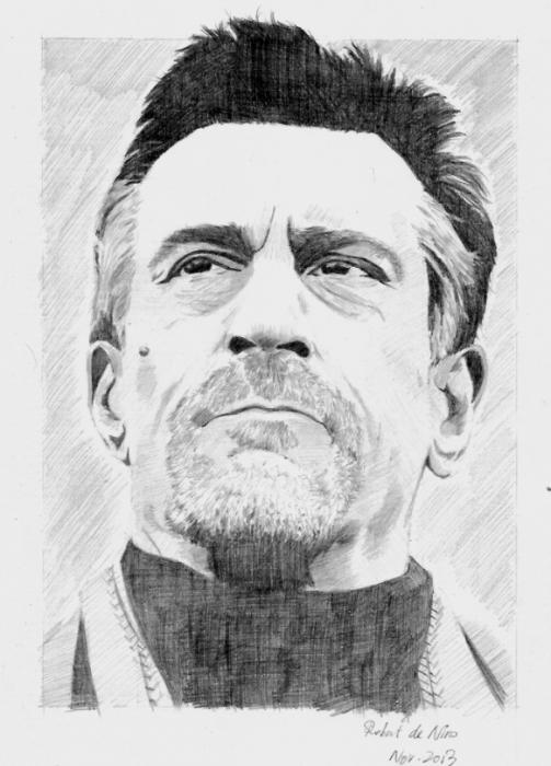 Robert De Niro by brocklesnarsneck